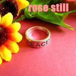 """Peace"" Ring $35 (incl postage)"