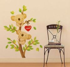 art-bar-home-decor-wall-stickers-for-kids-rooms-lovely-animal-wall-sticker-free-shipping-XY1056